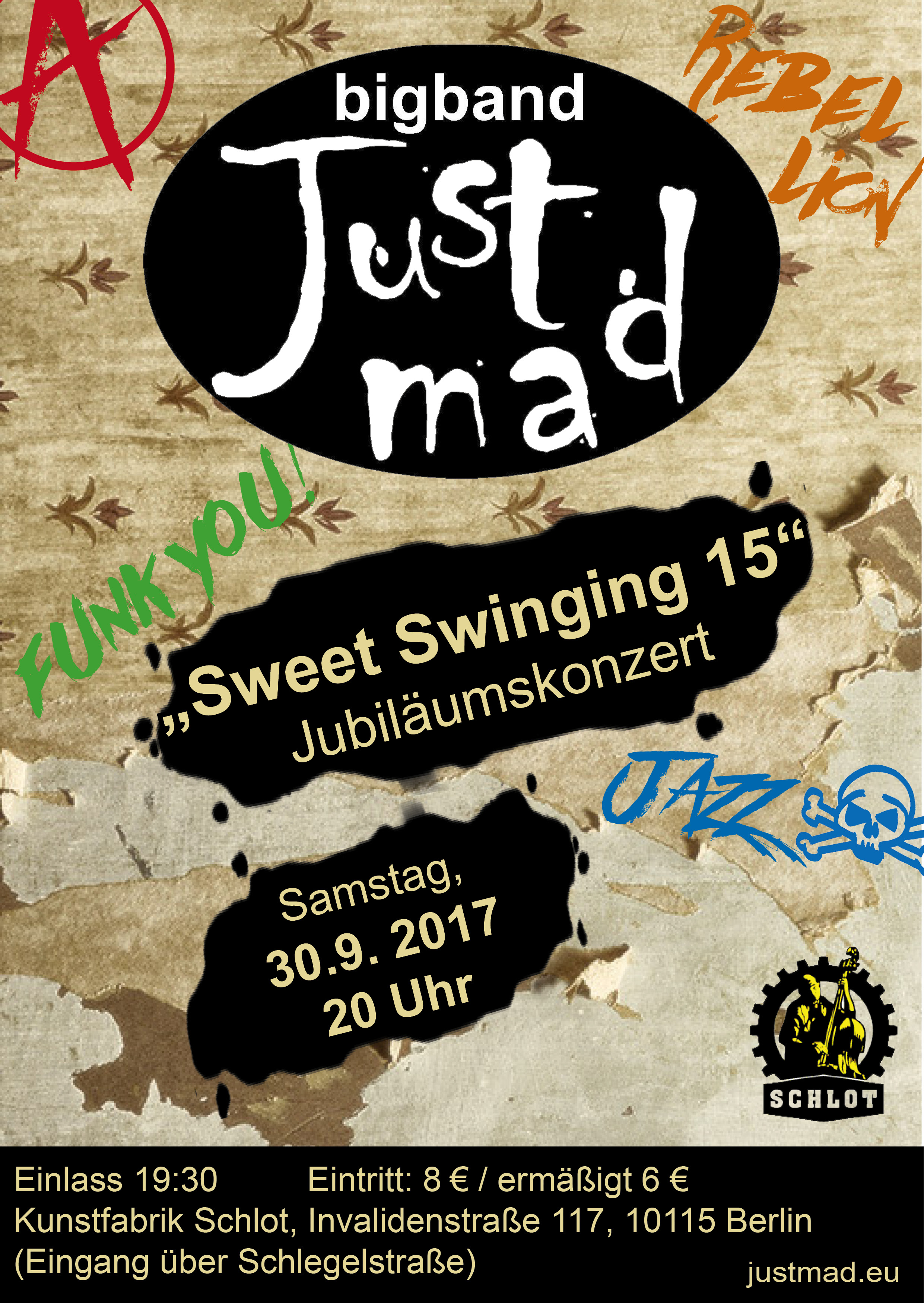 2017_09_30 Sweet Swinging 15 Flyer